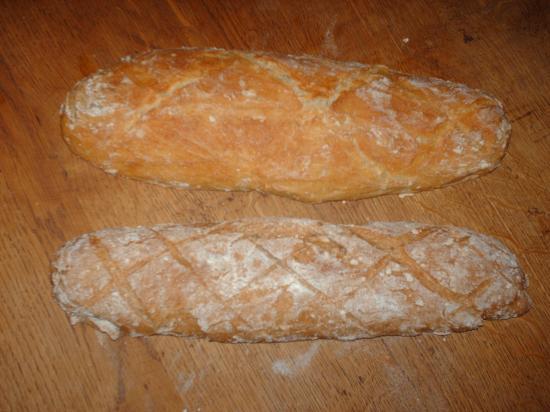 Pain blanc et pain complet